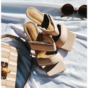 Shoes - 🆕️The Nude Collection// Beige heel Sandal